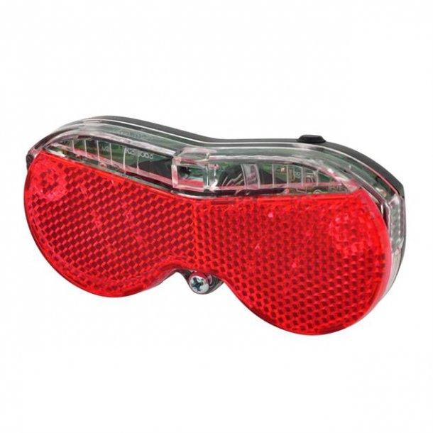 OXC Brightspot - Baglygte (LED) - Til Bagagebærer - 80mm - Sort