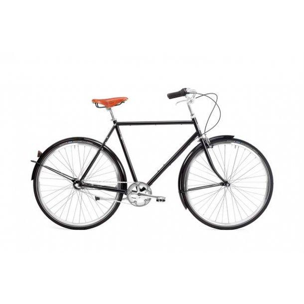Pelago - Bristol - Herre - Bycykel - Sort - 7 gear - 2021